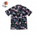 로버트제이씨 하와이(ROBERT J.C HAWAII) Robert J.C Hawaii - 102C.275 Hawaii Shirts [Black]