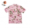 로버트제이씨 하와이(ROBERT J.C HAWAII) Robert J.C Hawaii - 102C.275 Hawaii Shirts [Pink]