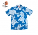 로버트제이씨 하와이(ROBERT J.C HAWAII) Robert J.C Hawaii - 102C.600 Hawaii Shirts [Blue]