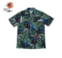 로버트제이씨 하와이(ROBERT J.C HAWAII) Robert J.C Hawaii - 102C.B45 Hawaii Shirts [Black]