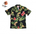 Robert J.C Hawaii - 102C.TR Hawaii Shirts [Black]