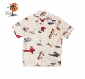 로버트제이씨 하와이(ROBERT J.C HAWAII) Robert J.C Hawaii - 250.845 Hawaii Shirts [Cream]