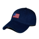 SMATHERS AND BRANSON - American Flag Needlepoint Hat [Navy]