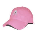 SMATHERS AND BRANSON - Jolly Roger Needlepoint Hat [Pink]