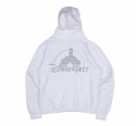 Diss Or That - [ETC SEOUL X Kembetwa] Disrespect Reflective Pullover Hoodie [White]