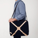 [팩큰롤] X-BAND 3WAY BAG (Navy)