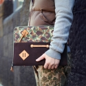 [팩큰롤] ONEDAY CLUTCH (Khaki Camo)