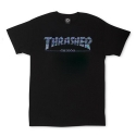 쓰레셔(THRASHER) GX1000 Tee - Black