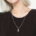 더샐리스로우(THE SALLYS LAW) [UNISEX]twins cross chain necklace