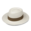 에콴디노 햇(ECUA-ANDINO HATS) Ecua-Andino - Dumont [White] [Light Brown Band]