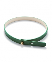 [usual M.E] color leather simple choker (6 colors)