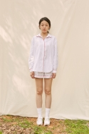 클로징멘트(CLOSINGMENT) [closingment] womens pajama set - white