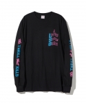 [파라다이스 유스 클럽] PARADISE YOUTH CLUB / THRILL LS TEE / BLACK