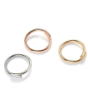 먼데이에디션(MONDAY EDITION) [usual M.E] hidden cubic simple ring (3 colors)
