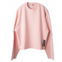 로맨틱크라운(ROMANTIC CROWN) [ROMANTICCROWN]Standard Drop shoulder Wide Crew neck_Pink