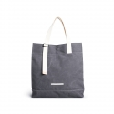 [로우로우] R TOTE 291 RAW WAXED CHARCOAL