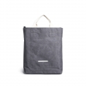 로우로우(RAWROW) [로우로우] R TOTE 233 RAW WAXED CHARCOAL