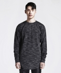 디프리크(D.PRIQUE) LONG SLEEVE T-SHIRT (BLACK)