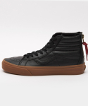 반스() 반스 스케이트 하이 리이슈 / VN0004KYJSF1 / (Hiking) black/gum / SK8-Hi Reissue Zip