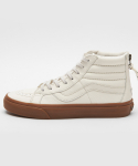 반스() 반스 스케이트 하이 리이슈 / VN0004KYJSH1 / (Hiking) white/gum / SK8-Hi Reissue Zip