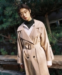 어몽(among) A BUTTON TRENCH CT