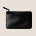 Leather Card Wallet (Black)
