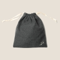 Simple Pouch (Charcoal)
