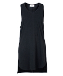 하이에덴(HIEDEN) HIEDEN SLEEVELESS TEE - BLACK