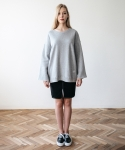 메리먼트(MERRIMENT) LOOSESLEEVE TEE (GREY)