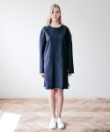 메리먼트(MERRIMENT) DENIM DRESS (INDIGO)