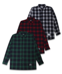 필루미네이트() Unisex Saint Check Shirt