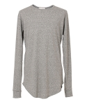 하이에덴(HIEDEN) HIEDEN LONG TEE - GREY
