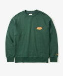레이어 유니온(LAYER UNION) HOT DOG SWEATSHIRTS GREEN