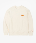 레이어 유니온(LAYER UNION) HOT DOG SWEATSHIRTS IVORY