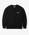 레이어 유니온(LAYER UNION) SIDE ZIP NED SWEATSHIRTS BLACK