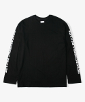 레이어 유니온(LAYER UNION) GOTHIC NED LONG SLEEVE TEE BLACK