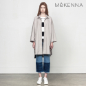 메케나(MEKENNA) MeKENNA Two collar pointed oversized coat _MX2Y3BY0050