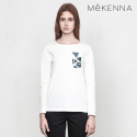 메케나(MEKENNA) MeKENNA printing melted long sleeve t-shirts_MX2Y3TS0050