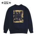페기민(FEGGYMIN) FEGGYMIN (페기민) VINTAGE LOGO PATCH SWEATSHIRT (FSHA1202)