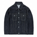 비바스튜디오(VIVASTUDIO) WASHED DENIM JACKET FA [INDGO]