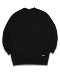 필루미네이트(FILLUMINATE) UNISEX Basic Sweat Shirt-Black