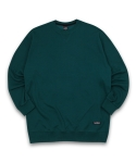 필루미네이트(FILLUMINATE) UNISEX Basic Sweat Shirt-Green