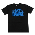유에스에이 머친다이징(U.S.A MERCHANDISING) U.S.A MERCHANDISING ANYTHING ART DAMAGE TEE [2] (BLACK)