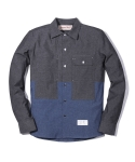 러기드하우스(RUGGED HOUSE) WASHING POCKET PATCH SHIRTS