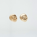 칩먼데이(CHEAP MONDAY) MINI SKULL EARRINGS 0342901 GLD