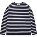 모디파이드() M#1010 boatneck stripe t-shirt (navy/white)