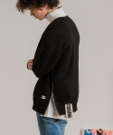 미나브(MINAV) [UNISEX] SIDE ZIPPER TAPE MTM BLACK