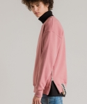 미나브(MINAV) [UNISEX] SIDE ZIPPER TAPE MTM DARKPINK