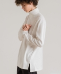 미나브(MINAV) [UNISEX] BASIC LAYERED TURTLENECK IVORY