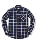 러기드하우스(RUGGED HOUSE) WIDE LINE CHECK SHIRTS